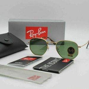 New Authentic Ray-Ban RB3548 Hexagonal